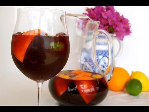 {Cocktail Recipe} Spanish Sangria By CookingForBimbos.com