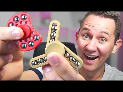 Thumbnail: 6 Of The Most Unique Fidget Spinners!