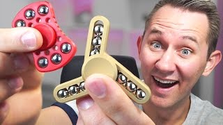 6 Of The Most Unique Fidget Spinners! thumbnail