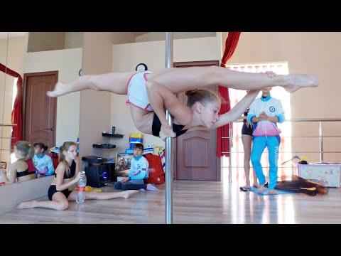 Pole sport kids talent 13 years old SUPER PERFOMANCE | Дети супер выступление акробатка на пилоне