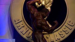 Cedric Mcmillan Arnold Classic 2016 Posing Routines