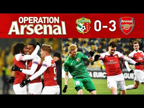 VORSKLA 0-3 ARSENAL - IMPRESSIVE YOUNG GUNS!