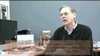 Partie 1- Présentation du projet de recherche sur la télévision jeunesse canadienne
