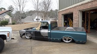 Finnegan'S Garage Ep.46: Revolutionary Hydraulic Suspension For My Chevy C10 Truck