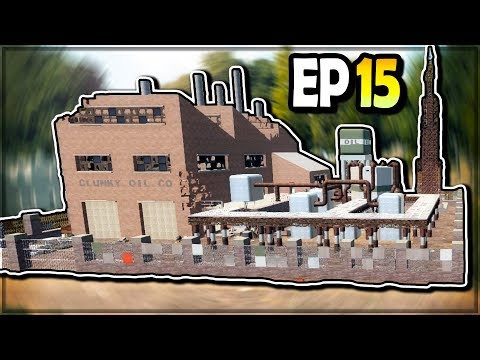 OIL FACTORY LOOTING (Highly Explosive...) - 7 Days to Die EP 15 (Alpha 18.3)