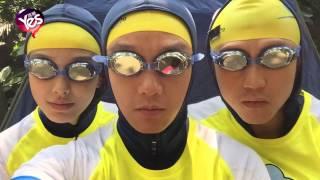 《跑男2》驚現陳奕迅!鄭愷戴泳鏡擰眉撞臉Eason
