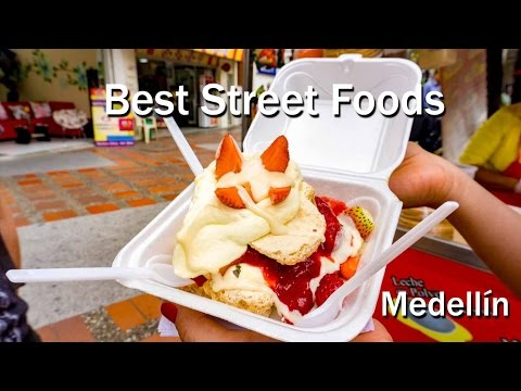 Best Colombian Street Foods In Medellin
