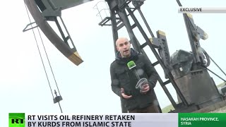 ISIS oilfield exclusive footage: Inside refinery captured by Kurdish militia from Daesh