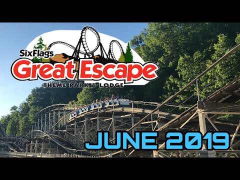 Six Flags Great Escape Vlog June 2019