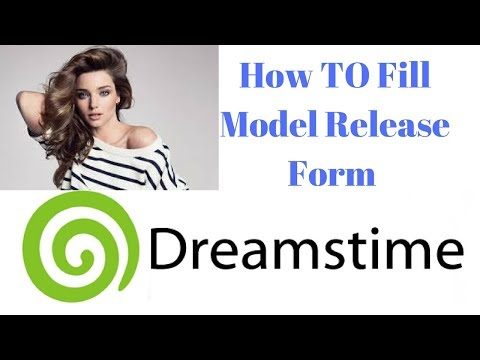 How To Fill Model Release Form Of Deamstime | Stock Photography | Hindi
