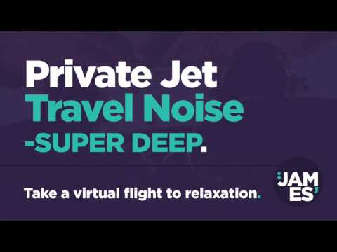 1hr of Private Jet Travel Noise