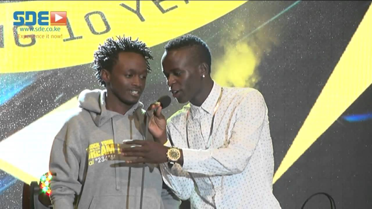 Willy Paul and Bahati reconciled at Groove Nomination Party 2015