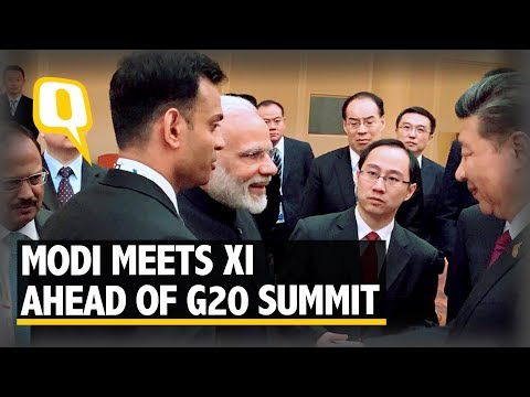 Modi addresses BRICS leaders on the sidelines on G20 Summit in Hamburg - The Quint