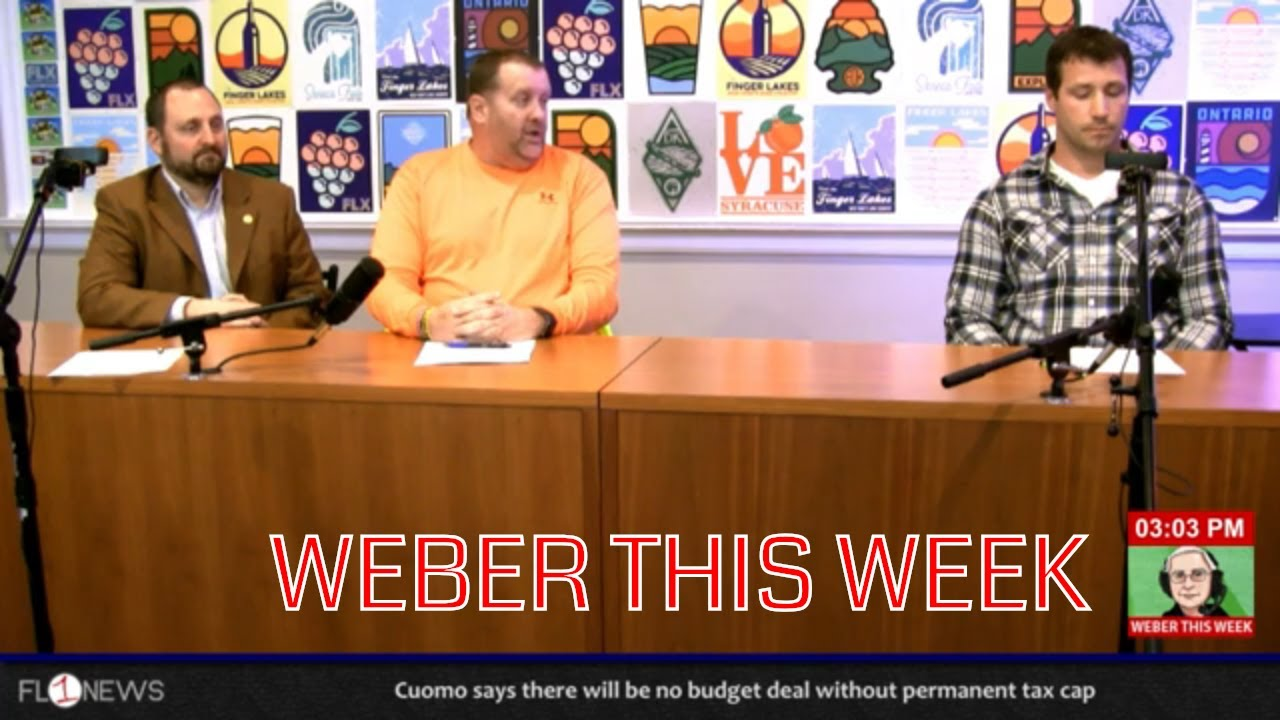 Kyle Black, Ben Zimmerman & Mark Benjamin of Seneca Meadows .::. Weber This Week 3/25/19