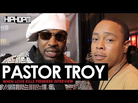 """Pastor Troy Talks His New Film & Production Career, New Music, & More (""""When Love Kills"""" Premiere)"""