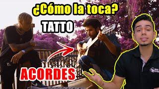 ¿Cómo la toca TATTO REMIX (Acústico) Rauw Y Camilo | Tutorial en Guitarra (ACORDES + PDF)