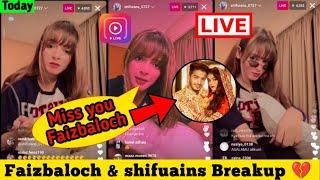 Download Shifuians live today on instagram    Miss you Faizbaloch    Shifuians new video
