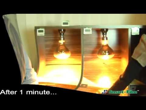 Smart Film Energy saving test
