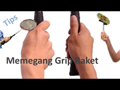 Sudut Tepat memegang grip Raket | Badminton Tips