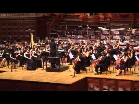 Samuel Barber - Adagio for strings. The World Orchestra conducted by Josep Vicent
