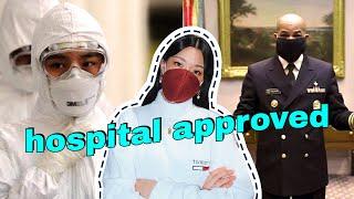 I made hospital-approved face masks | WITHWENDY
