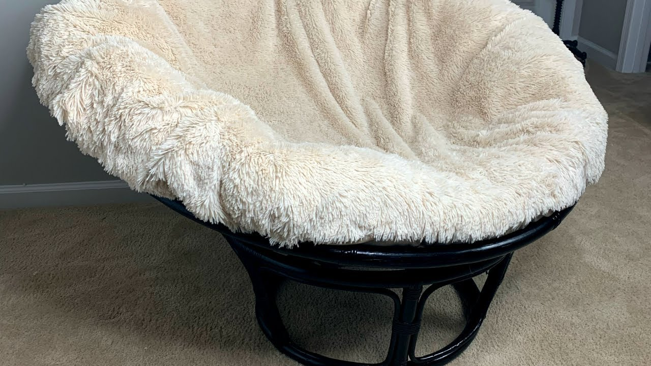 easy diy papasan chair revamp one day project alexis nichole