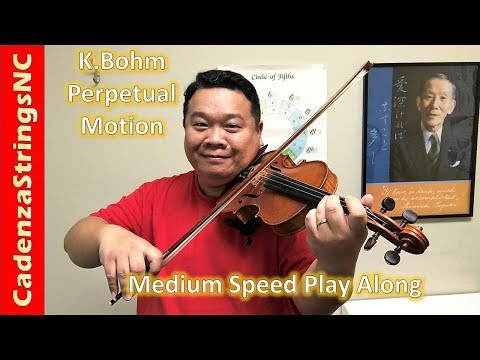 Perpetual Motion | Medium Speed | Suzuki Violin Book 4