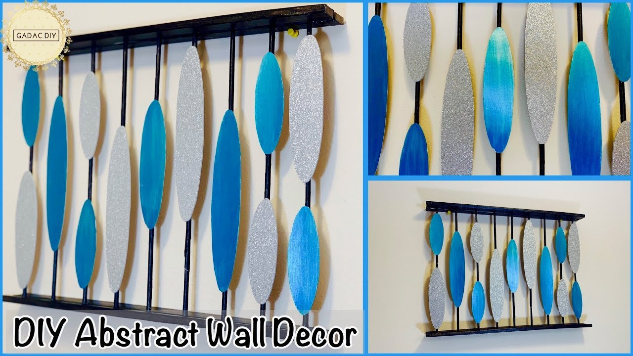Best Out Of Waste Unique Wall Hanging Craft Ideas Gadac