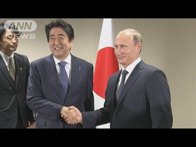 会談に遅刻した安倍首相がプーチン大統領に駆け寄る姿が可愛い!まるで秋田犬のようだと話題に!