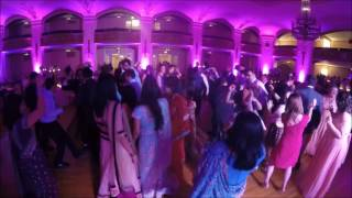 Indian Wedding DJ Ankit and Lea Wedding Video Log Masonic Temple Detroit DJ Naveen
