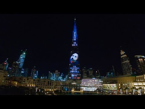 Burj Khalifa, Dubai | The Phantom of the Opera