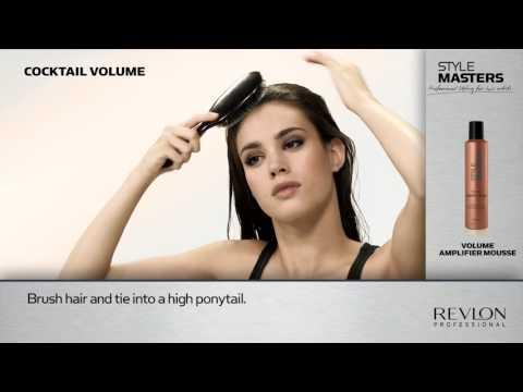 Volume Amplifier Mousse Style Masters de Revlon