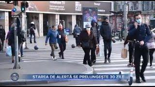 Stirile Kanal D (13.11.2020) - Starea de alerta se prelungeste 30 de zile! | Editie de pranz