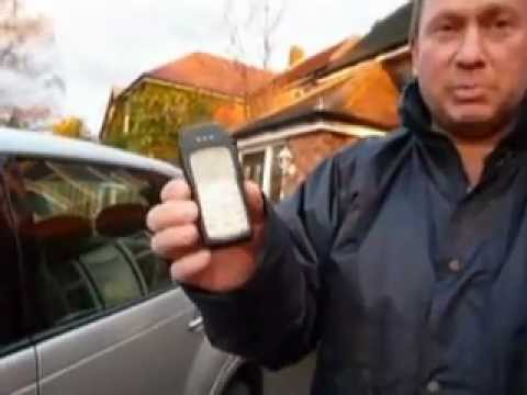 How To Unlock A Car Door With Any Mobile Phone / Cellphone !!!
