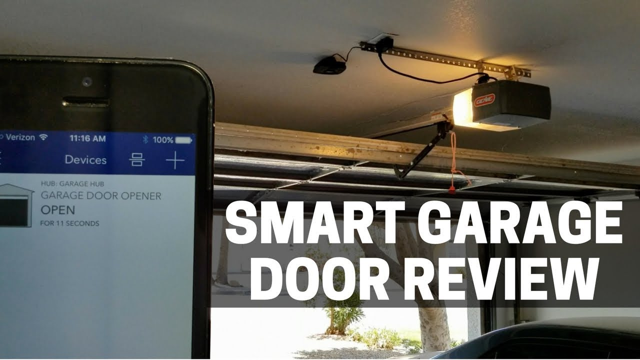 Myq Garage Door Opener Review Dandk Organizer