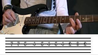Como Tocar Nightrain en Guitarra Eléctrica: Riff Completo! (Guns N Roses) Tutorial Fácil TCDG