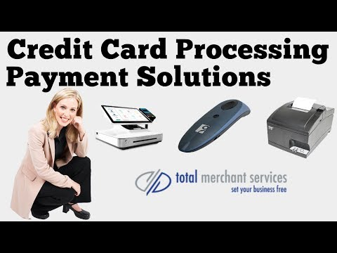Credit Card Processing Payment Solutions From Total Merchant Services