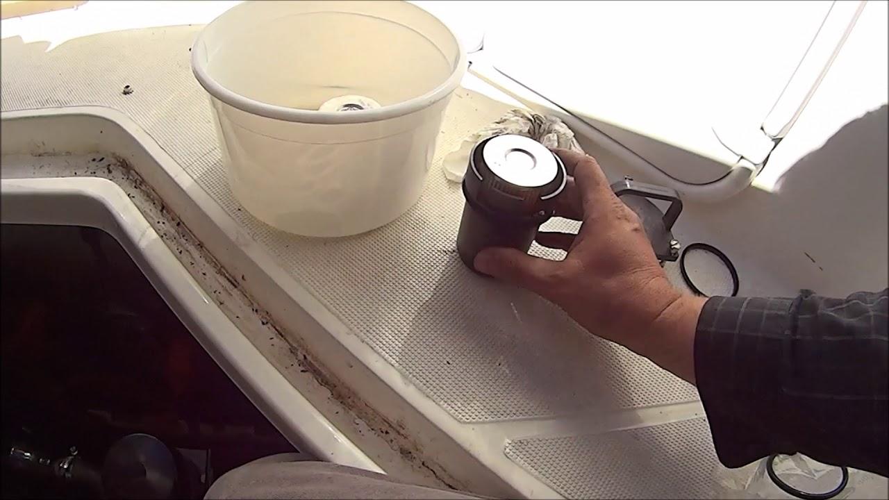 hight resolution of change fuel filter water separator mag 350 rinker 260 ec