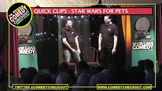 Discount Comedy Checkout - Quick Clips : Star Wars for Pets