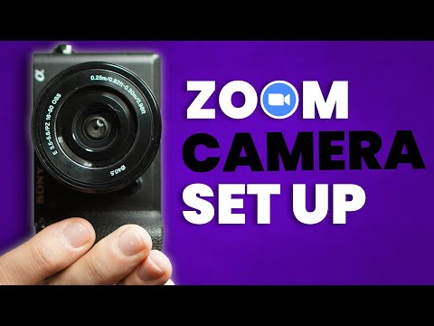 How To Use A DSLR Or Mirrorless Camera With Zoom Video Calls