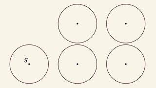 Zagadka - jak przeciąć linią prostą ten układ na pół?