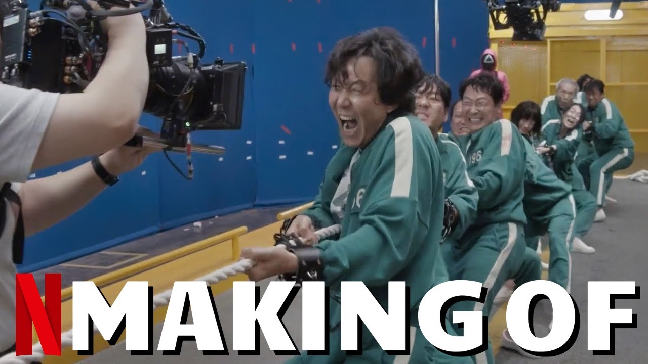 Download Making Of SQUID GAME Part 2 - Best Of Behind The Scenes, On Set Bloopers & Outtakes | Netflix