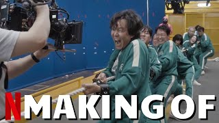 Making Of SQUID GAME Part 2  Best Of Behind The Scenes, On Set Bloopers & Outtakes | Netflix