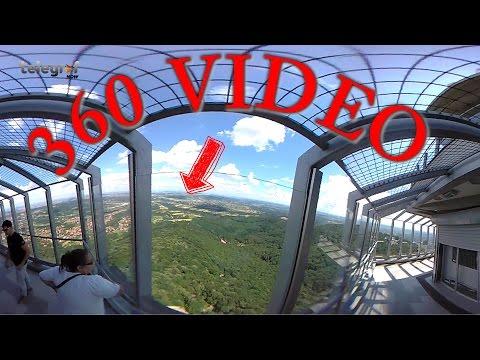 Nikad viđeni snimci sa Avalskog tornja - snimljeno 360 kamerom!