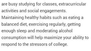 Healthy lifestyle for college students!! 😻💪