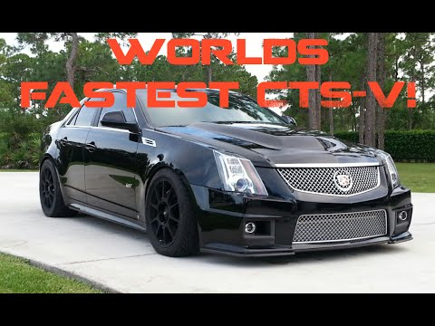 Worlds First 8 Second Cadillac CTS-V!
