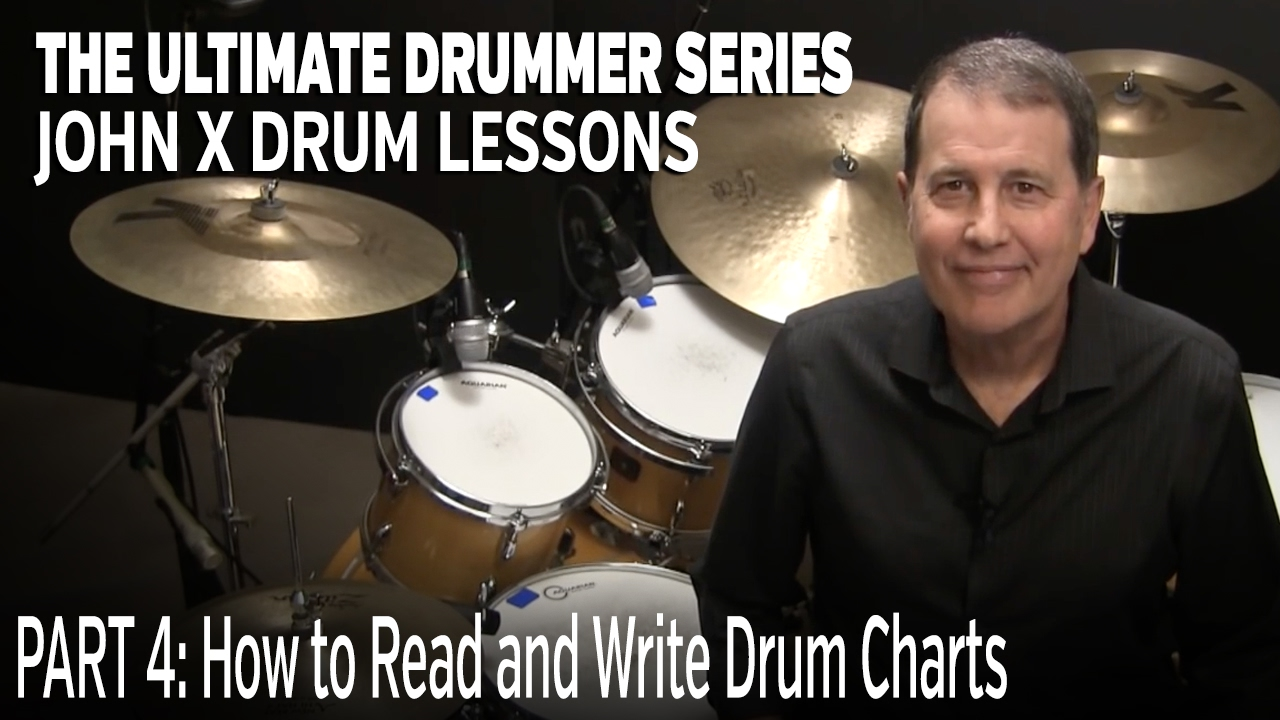 JohnX Lessons: How to Read and Write Drum Charts