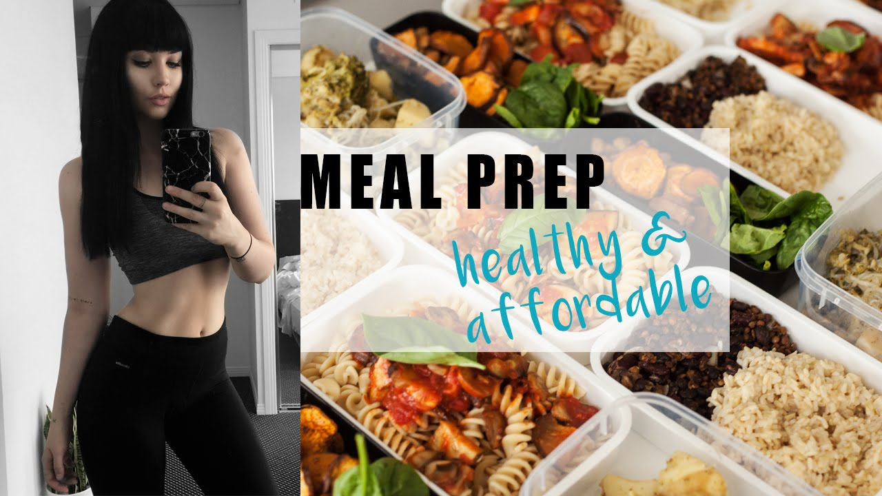 Meal Prep With Me Healthy Affordable Rachel Aust Youtube