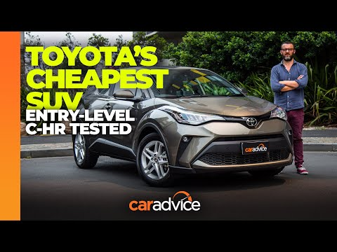Cheapest Toyota SUV! Toyota C-HR 2WD 2020 Review