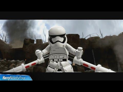 LEGO Star Wars The Force Awakens - FN-2199 (TR-8R) Boss Fight Walkthrough